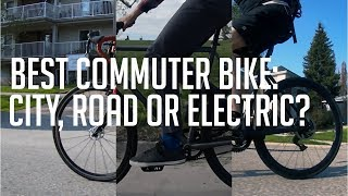 Best commuter bike: City bike, road bike or electric bike?