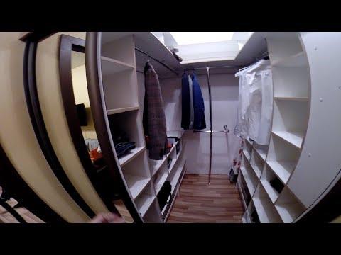 конструкции гардеробных комнат!