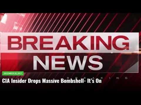 CIA Insider Drops Massive Bombshell  It's On