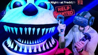 SO. MANY. JUMPSCARES!! | Five Nights At Freddy's VR: Help Wanted [FNAF VR] Dark Rooms