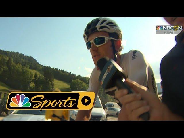 Tour de France 2018: Geraint Thomas says Van Avermaet wont beat Froome I NBC Sports