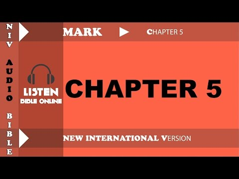 Holy Bible Audio NIV : MARK Chapter 5 With English Subtitle  (New International Version )