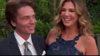 Daisy Fuentes and husband Richard Marx on the red carpet