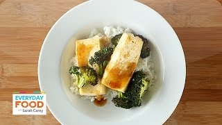 Soy-maple Broiled Tofu -  Everyday Food With Sarah Carey