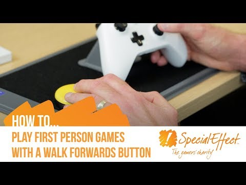 How To Play First-Person Games With A Walk Forwards Button | GameAccess