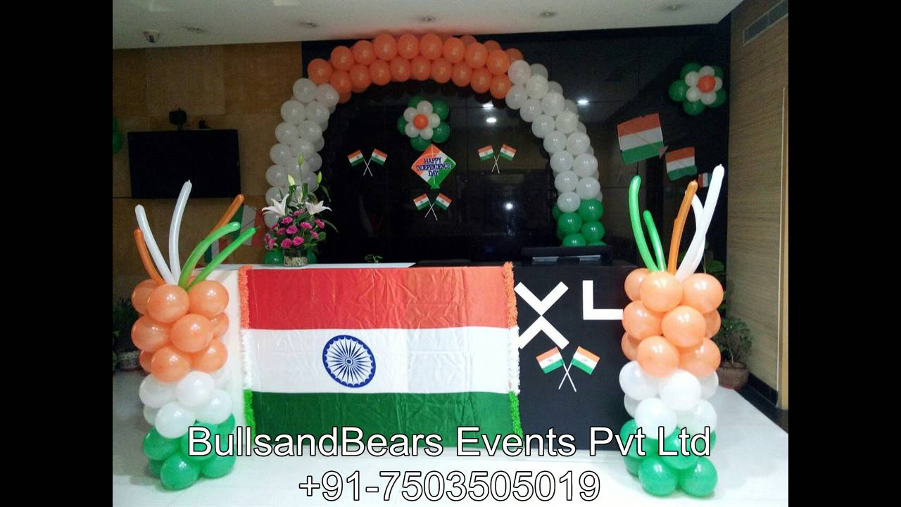 15 August Independence Day Decoration 26 January Republic You