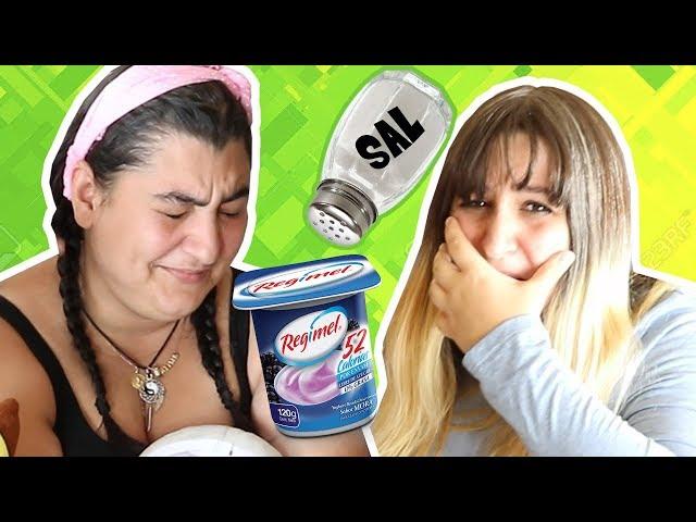 [RETO] ¡Quien falle come Yogurt con sal! ????