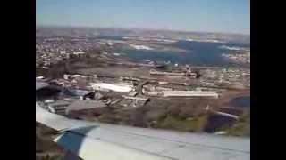 air canada erj190 aborted landing in new york lga