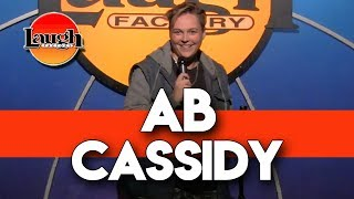 AB Cassidy | From Boston To Disney | Laugh Factory Standup Comedy