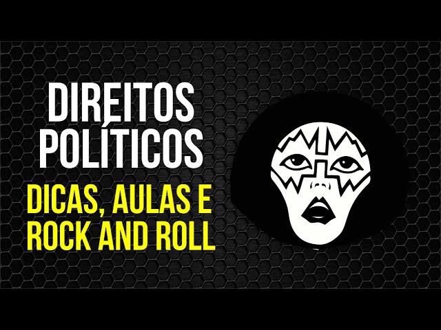 Direito Constitucional - Direitos Políticos - Dicas Aulas e Rock - AlfaCon