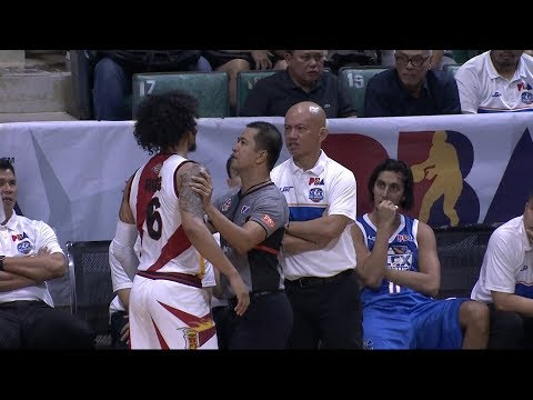 Ross gets tossed! | PBA Philippine Cup 2018