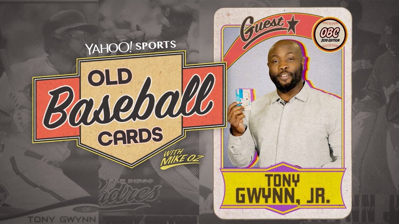 Tony Gwynn Jr Opens Packs Looking For His Dad Old Baseball Cards