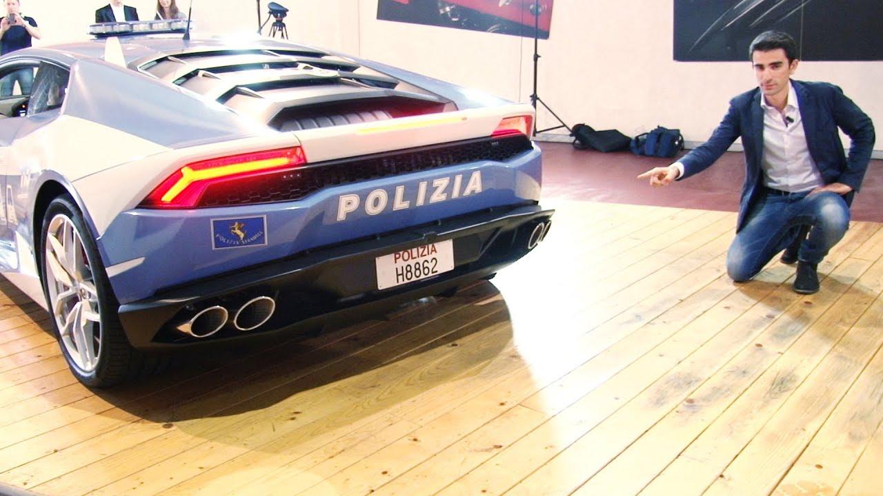 Lamborghini Hurac 225 N Polizia Che Bella Divisa E Sentite