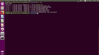 How to remove the problem of executable not in path in linux