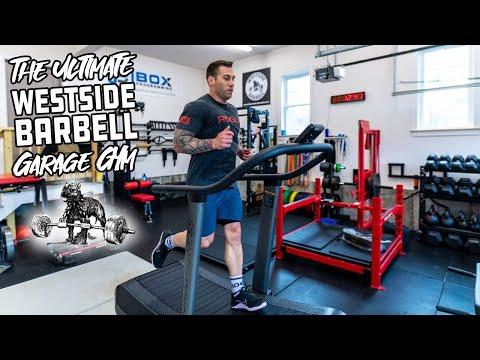 the ultimate westside barbell garage gym walkthrough  youtube