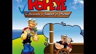 POPEYE I (Full movie, Spanish, Cinetel)