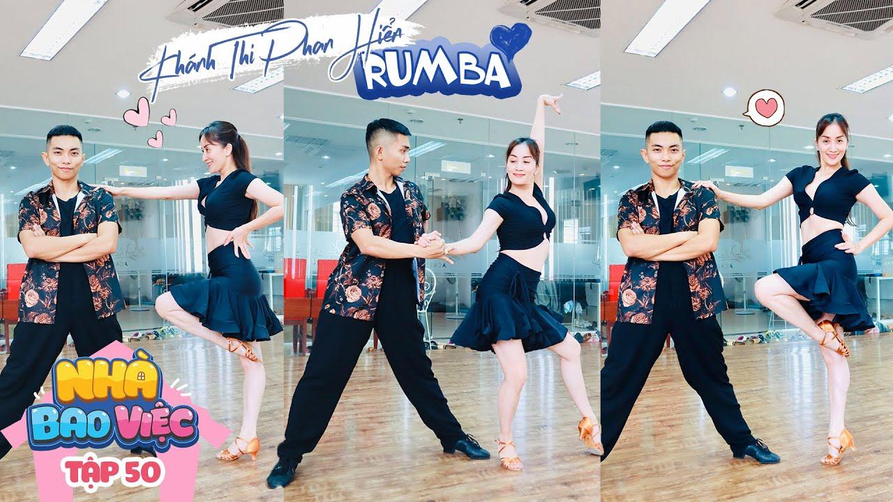 #50 Khánh Thi Phan Hiển tập luyện dancesport   Nhà Bao Việc Tập 50 #NBV