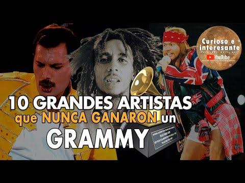 🎤 TOP 10 Famosos Cantantes, Bandas y Músicos que no ganaron un premio Grammy: Guns N' Roses, Queen.