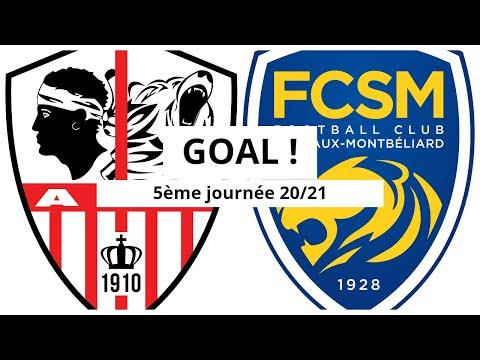 AC Ajaccio Sochaux Goals And Highlights