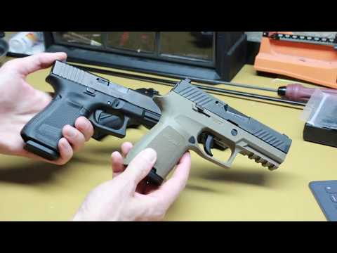 Glock 19 gen5 vs Sig p320