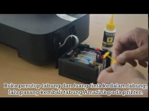Video Cara Refill Infus Printer Canon Pixma IP2770
