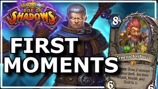 Hearthstone - Best of Rise of Shadows First Moments
