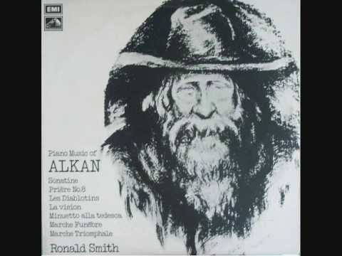 Charles Valentin Alkan   MARCHE FUNEBRE Op.26a / Marche Triomphale Op.26b    RONALD SMITH