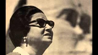 أم كلثوم ( حديث الروح ) - سينما قصر النيل 1 يونيو 1967/ الوصلة الثالثة.
