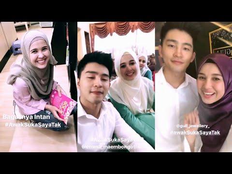Sweet moment Alvin Chong & Emma Maembong dalam drama Awak Suka Saya Tak