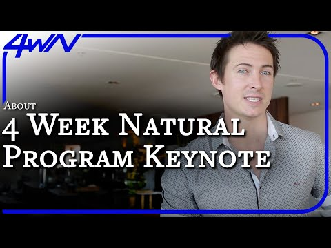 Introduction To The 4 Week Natural Program (A Mini Key Note Presentation)