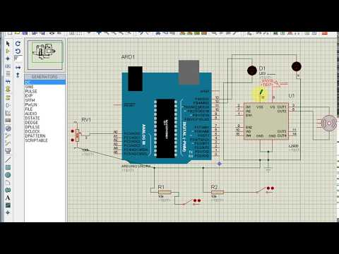 DC Motor Speed | & Direction control | Rotary Encoder | Matlab + Arduino + ISIS project