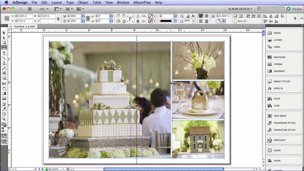 wedding album templates indesign - Selo.l-ink.co