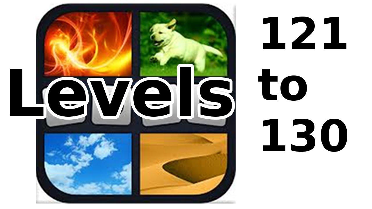 4 Pics 1 Word Level 121 To 130 Walkthrough Youtube