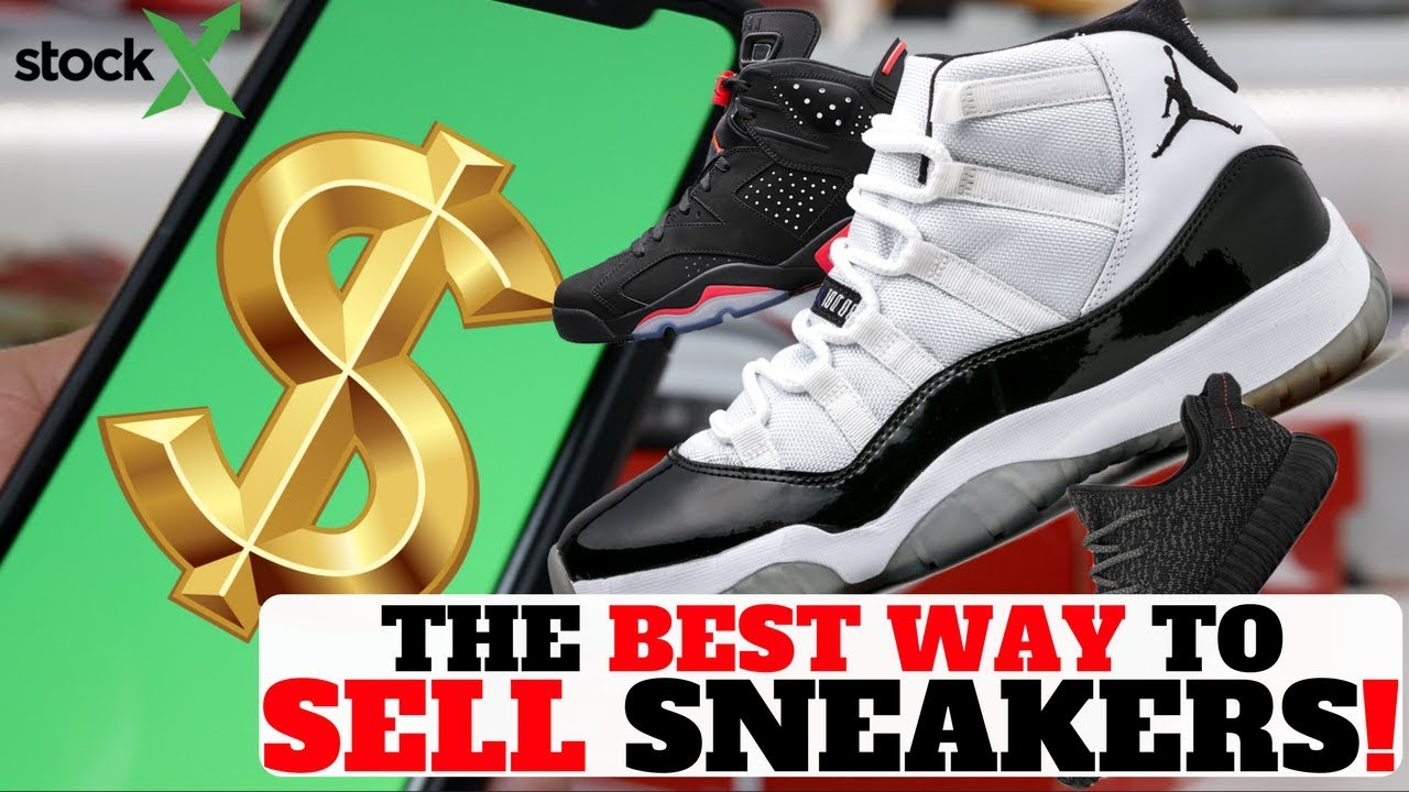 HOW TO MAKE MONEY RESELLING SNEAKERS ONLINE with STOCKX!! - YouTube 89be4a98c