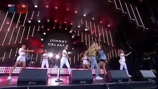 Jonnhy Orlando + Mackenzie Ziegler live Cbbc summer social 2018