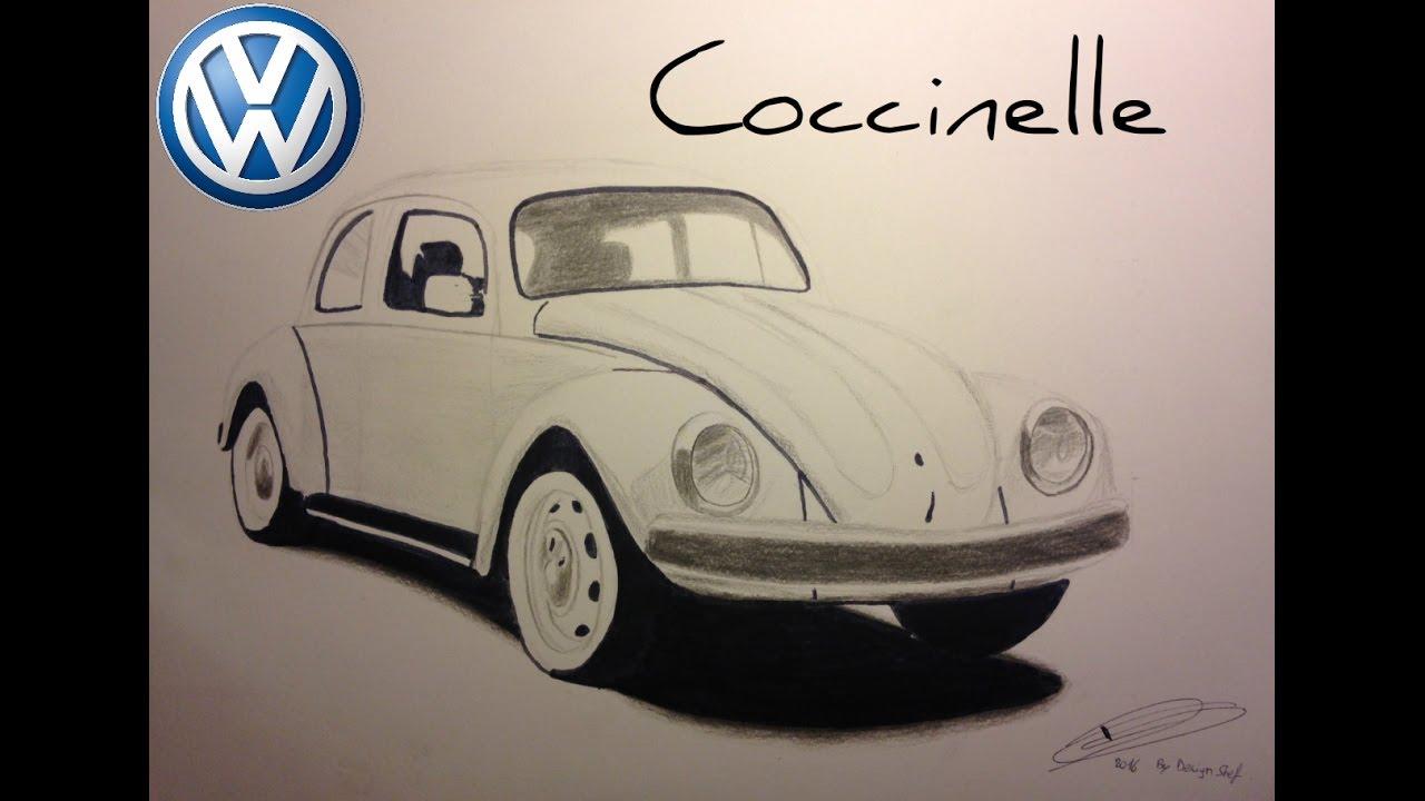 Dessin volkswagen coccinelle bonus youtube - Dessin cocinelle ...