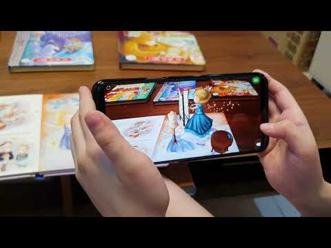 Little Hippo books augmented reality storybook part 1 Cinderella COVID-19 special