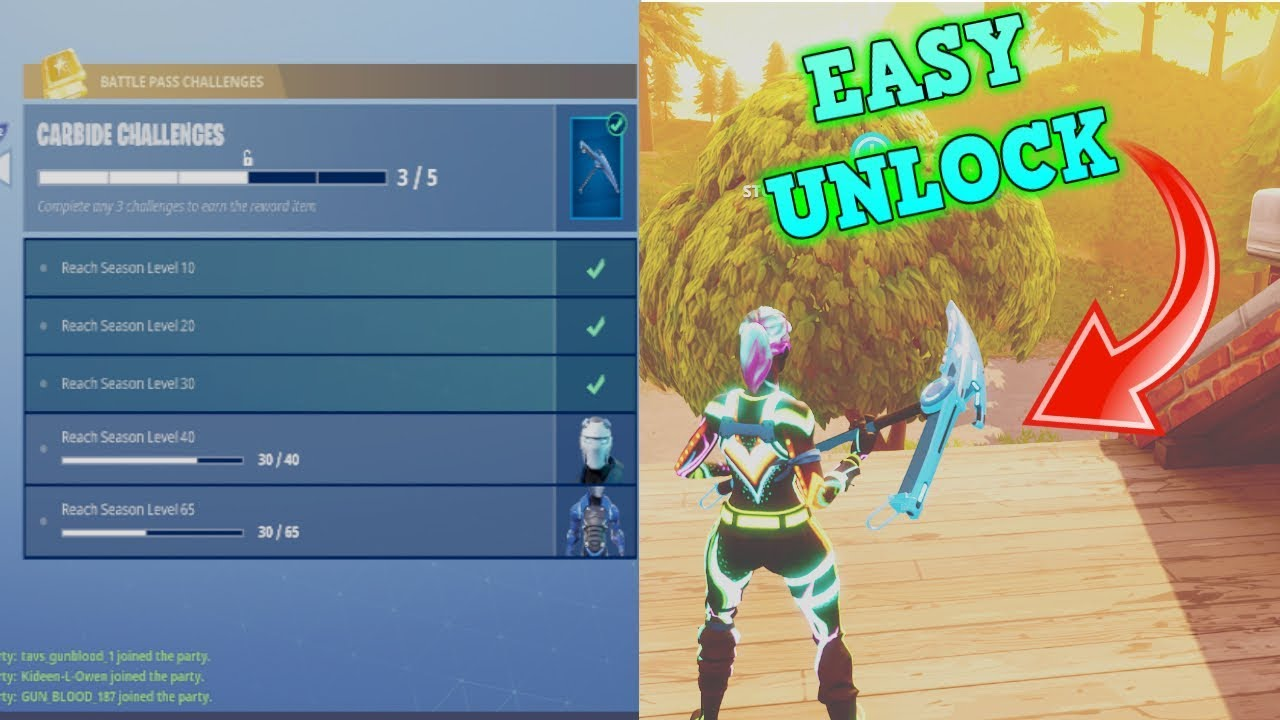 How To Unlock The New Season  Positron Pickaxe In Fortnite Insanely Fast And Super Easy