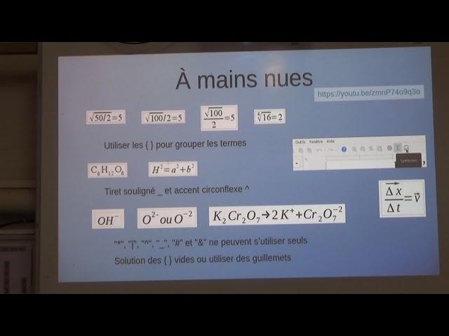 LibreOffice Math V
