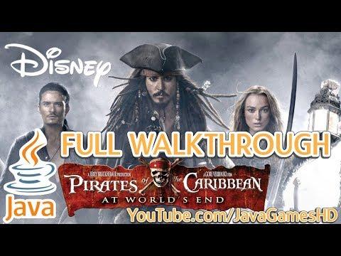 Pirates Of The Caribbean 3: At World's End JAVA GAME (Disney Mobile) FULL WALKTHROUGH