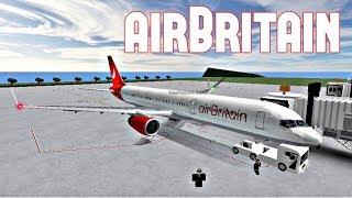 ROBLOX | airBritain Boeing 757-200 voo