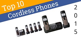 10 Best Cordless Phones 2015