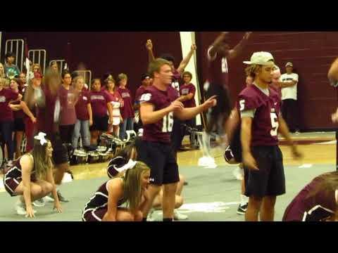 Brownwood High School homecoming pep rally Sept  8, 2017