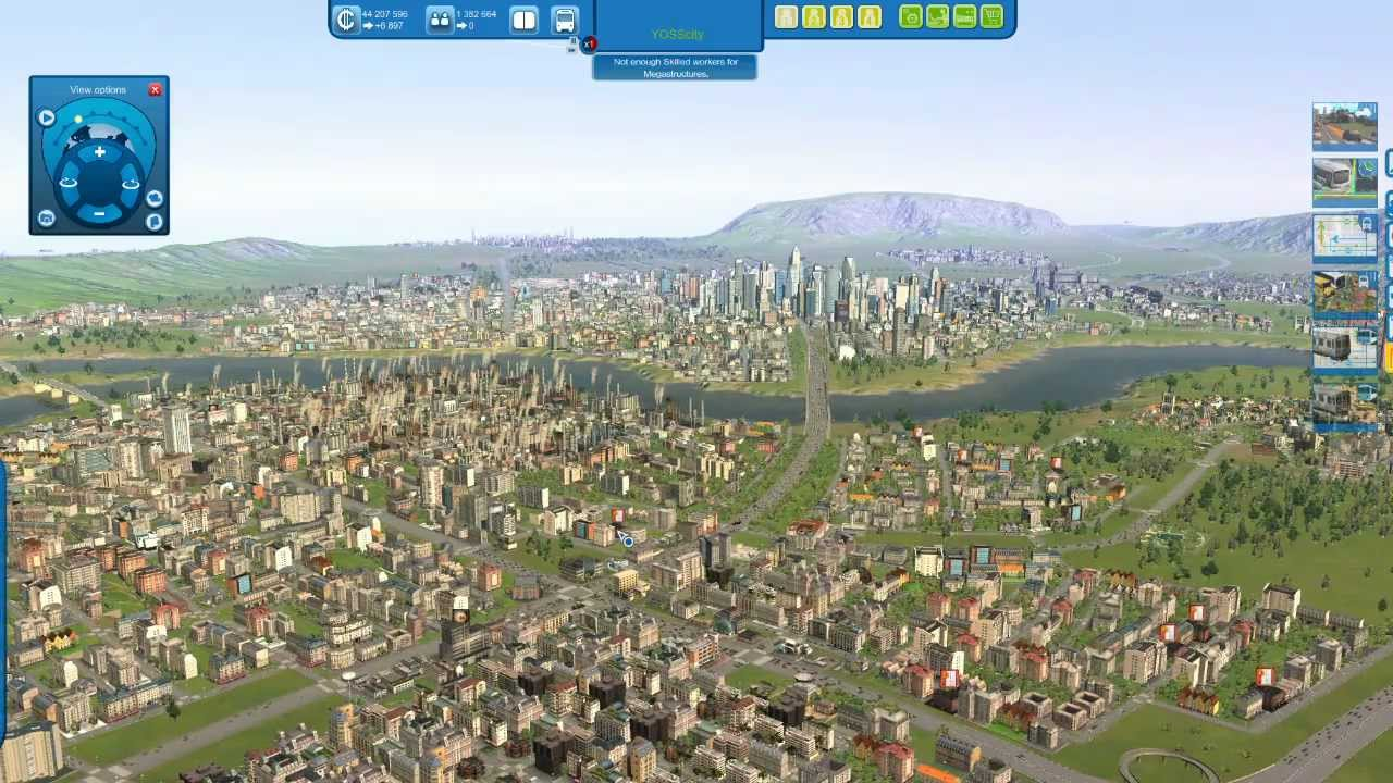 CITIES XL  Gameplay Million Population No ModRaw Game - New york map cities xl