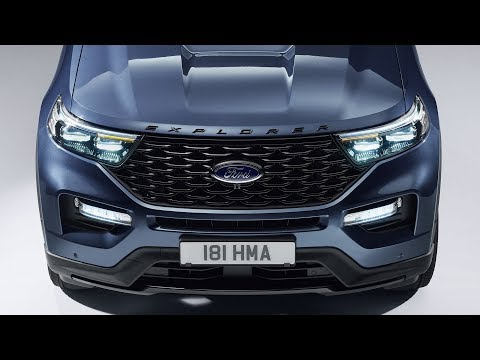 2020 Ford Explorer Plug-In Hybrid unveiling event