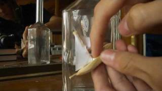How to build a ship in a bottle-ON A STICK