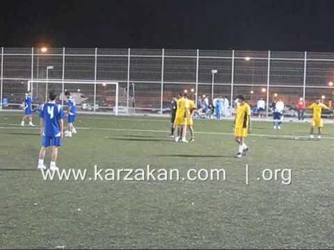 مباراة بين دمستان وكرزكان ببطولة فرجان البحرين-ديسمبر2008