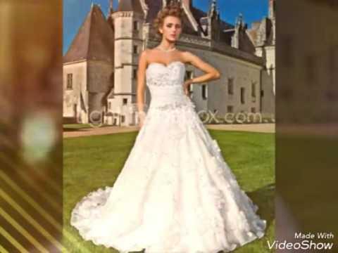 Os Vestido De Noiva Mais Lindo Do Mundo Youtube