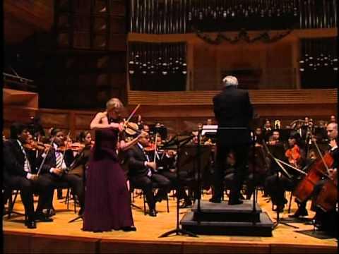 John Corigliano, Concierto para violín y orquesta, I. mov