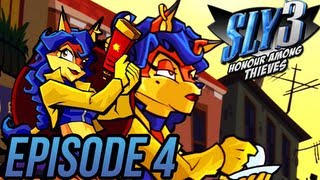 """Sly 3 Honor Among Thieves - Episode 4 """"Carmelita is Rambo"""""""